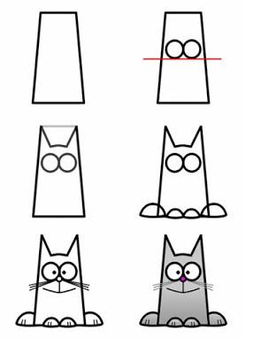 Aprenda A Desenhar Um Gato Fofo